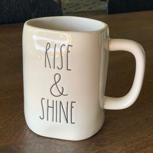 Rae Dunn 'Rise & Shine' mug